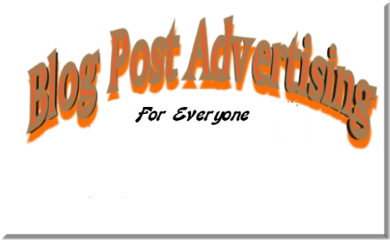 Blog Post Advertising How to